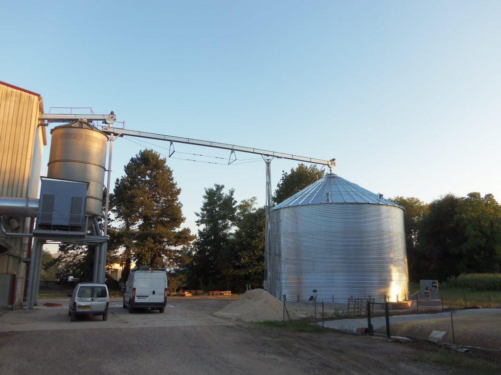 Vente et montage de silos de stockage