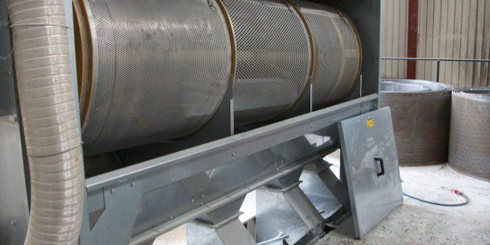 Vente de systèmes de nettoyage des céréales